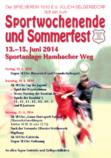 Sportwochende und Sommerfest 2014